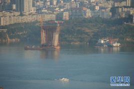 Yangtze River Bridge: Fengdu Yangtze River Bridge